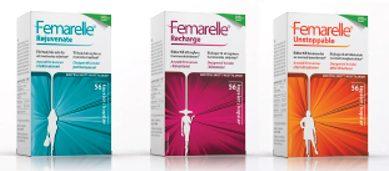 Femarelle - sojaextrakt mot klimakteriebesvär.